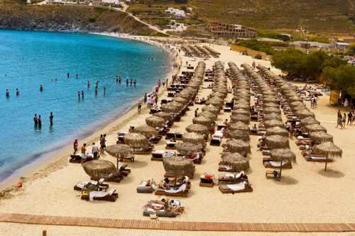 Solymar Beach Restaurant Mykonos