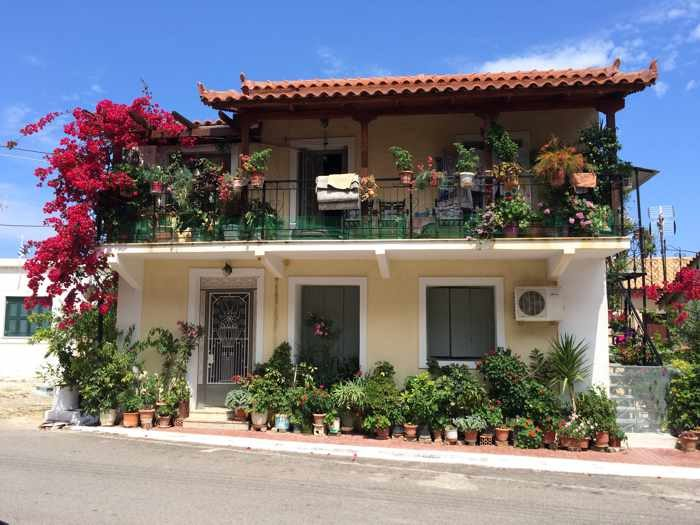 a house in Kyparissia