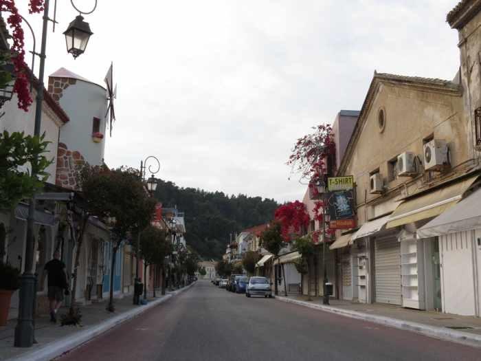 a street in Katakolo