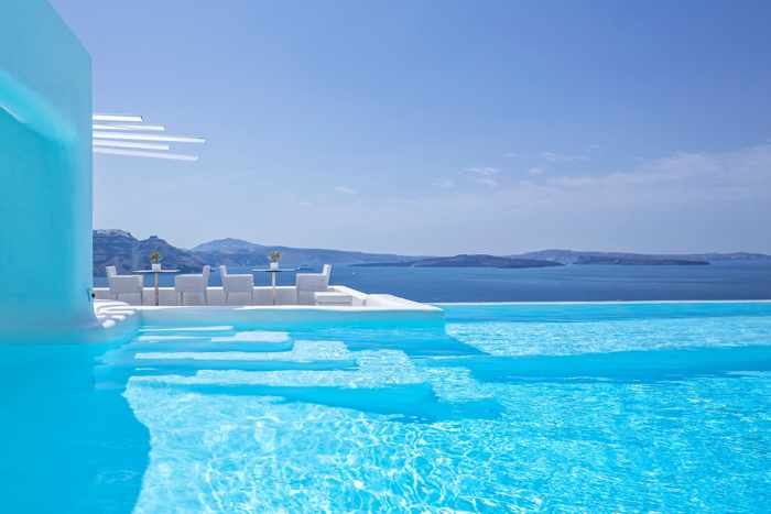Canaves Oia Suites pool