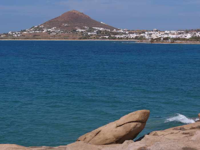 Shark Rock on Naxos