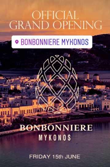 Bonbonniere Mykonos