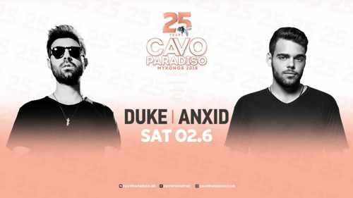 Cavo Paradiso Mykonos 2018