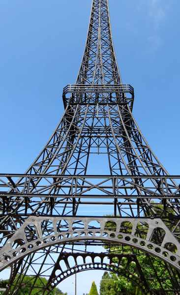 Eiffel Tower replica in Filiatra