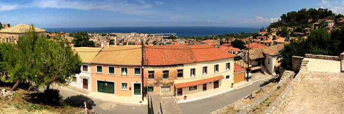 Kyparissia panoramic view