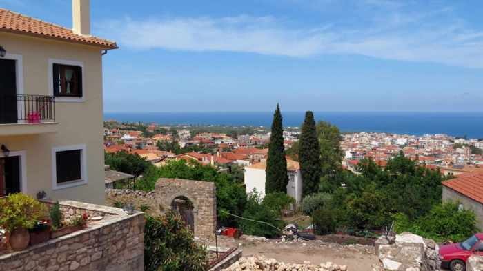 Kyparissia Old Town view