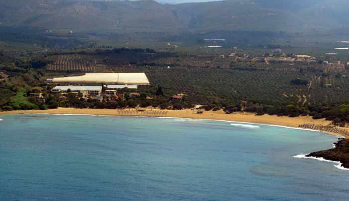 Lagouvardas beach