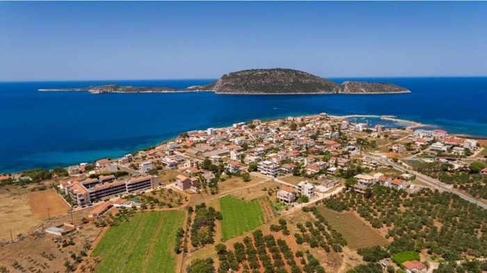 Marathopoli and Proti island