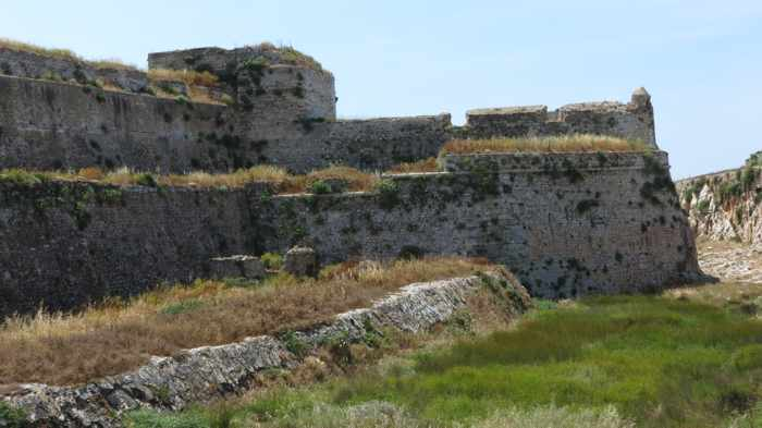 Methoni Castle moat