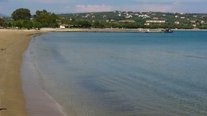 Methoni beach