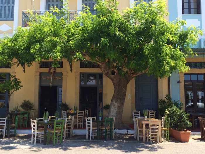Palia Agora in Kyparissia