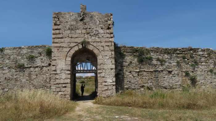 inside Methoni Castle