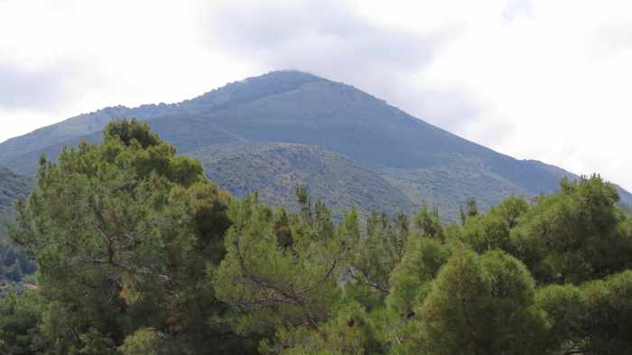 mountains at Kyparissia