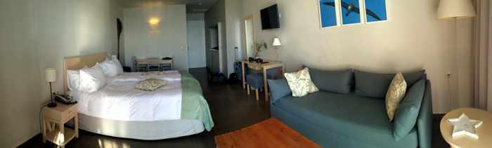 Artina Nuovo Hotel room interior