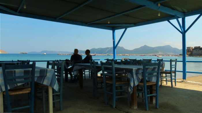 Akrogiali Taverna in Methoni