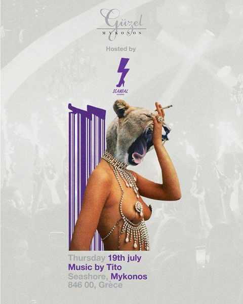 Guzel nightclub Mykonos
