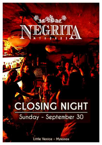 Negrita bar Mykonos