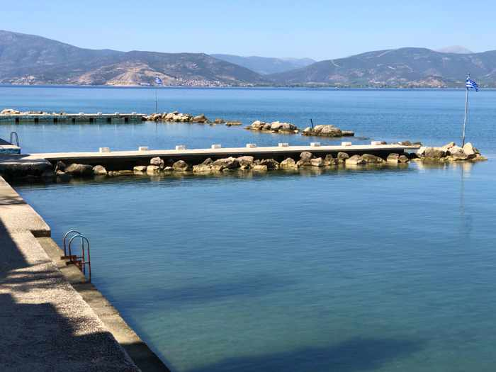 Banieres swimming area of Nafplio