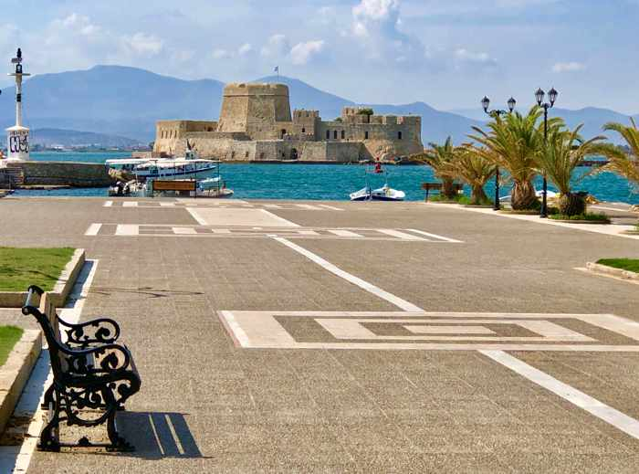 Bourtzi sea fortress at Nafplio