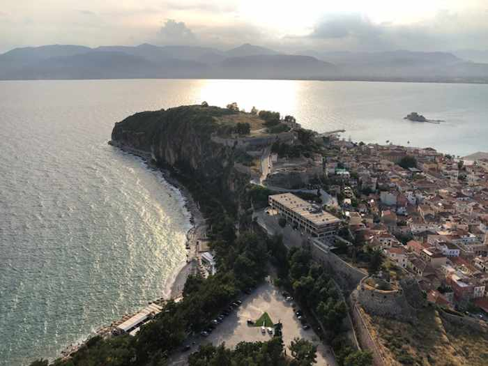 Palamidi Castle view of Nafplio