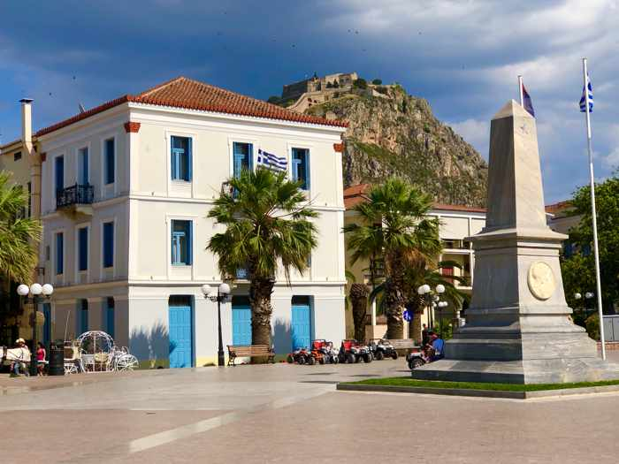 Philellinon Square at Nafplio
