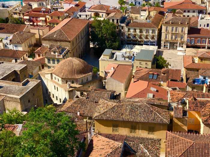 Rooftops in Nafplio