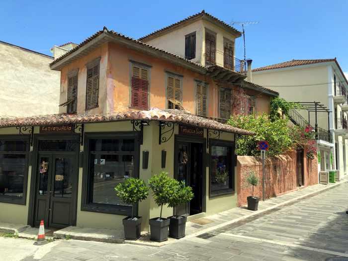 Nafplio street scene