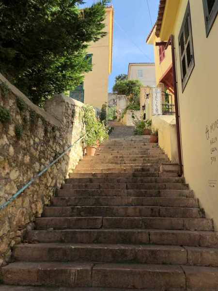 steps in Nafplio