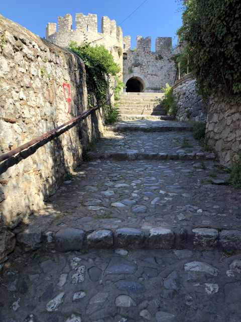 Acropnauplia fortress stairs