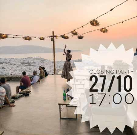 180 Sunset Bar Mykonos 2019 season closing announcement