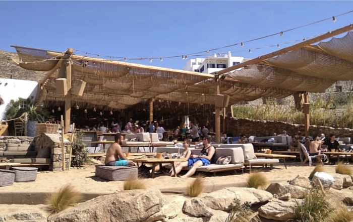 Greece, Greek islands, Cyclades, Mikonos, Mykonos, party, nightclub, party club, beach club, Mykonos party club, beach club, beach bar, beach restaurant, Alemagou, Alemagou Mykonos, Ftelia beach Mykonos,