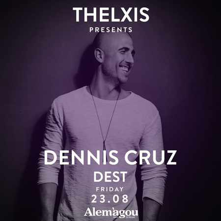 Alemagou beach club Mykonos presents Dennis Cruz and Dest on Friday August 23