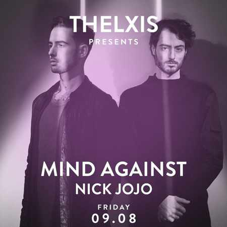 Alemagou beach club Mykonos presents Mind Against and Nick Jojo on Friday August 9