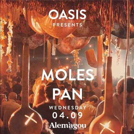 Alemagou beach club Mykonos presents Oasis party featuring music by Moles and Pan IMG_0254