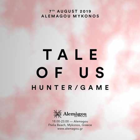Alemagou beach club Mykonos presents Tale of Us on Wednesday August 7