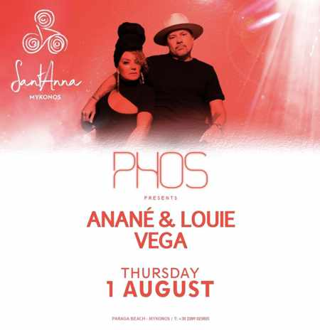SantAnna Mykonos presents Phos with Anane and Louis Vega