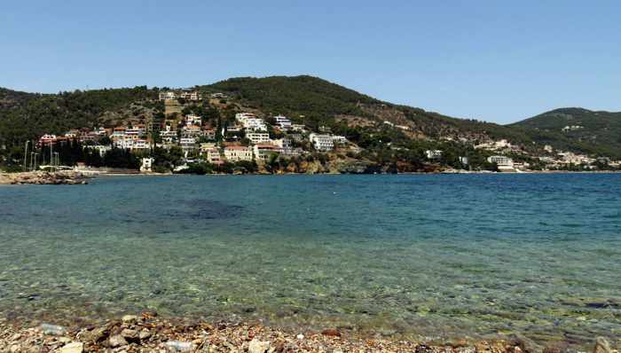Greece, Greek island, Saronic island, Poros, Poros Greece, Poros island, Askeli Bay, Askeli Bay Poros, bay, water, sea
