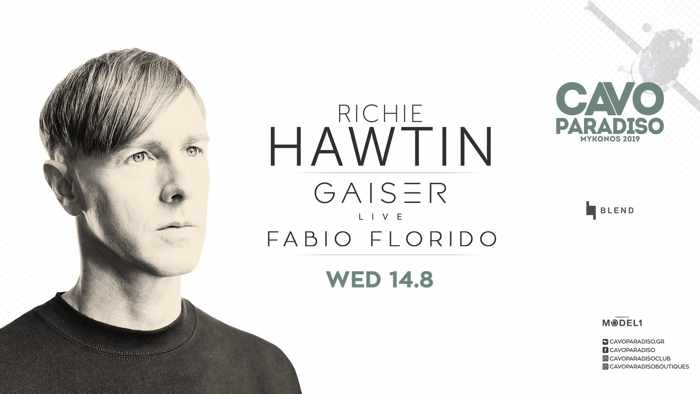 Cavo Paradiso Mykonos August 14 party with Richie Hawtin