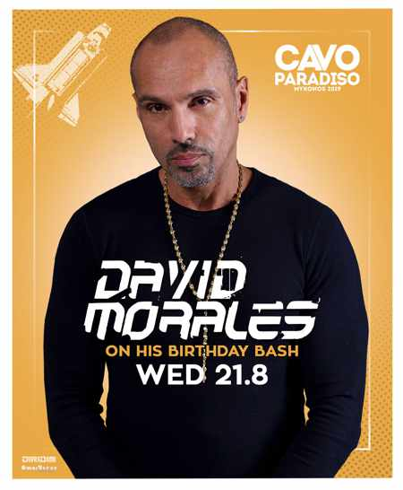 Greece, Greek islands, Cyclades, Mykonos, Mykonos, Mykonos party club, party, nightlife, DJ, Steve Aoki, Cavo Paradiso,Cavo Paradiso Mykonos, Mykonos party club, DJ David Morales, DJ David Morales at Cavo Paradiso Mykonos