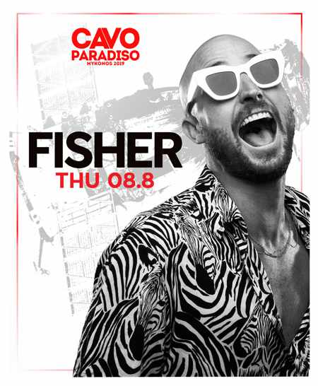 Greece, Greek islands, Cyclades, Mykonos, Mykonos, Mykonos party club, party, nightlife, DJ, Steve Aoki, Cavo Paradiso,Cavo Paradiso Mykonos, Mykonos party club, DJ Fisher