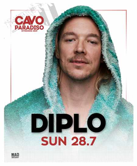 Greece, Greek islands, Cyclades, Mykonos, Mykonos, Mykonos party club, party, nightlife, DJ, party at Cavo Paradiso Mykonos, Mykonos party club, DJ Diplo, DJ Diplo at Cavo Paradiso Mykonos, Diplo