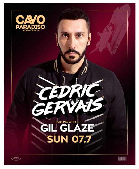 Greece, Greek islands, Cyclades, Mykonos, Mykonos, Mykonos party club, party, nightlife, DJ, Steve Aoki, Cavo Paradiso,Cavo Paradiso Mykonos, Mykonos party club, DJ Cedric Gervais, DJ Cedric Gervais at Cavo Paradiso Mykonos