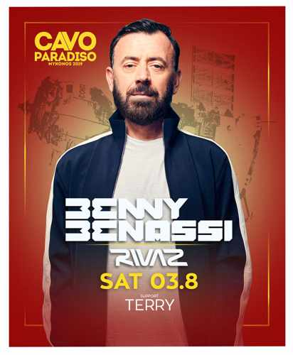 Cavo Paradiso Mykonos presents Benny Benassi on August 3