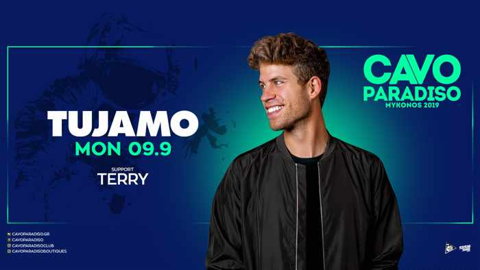 Cavo Paradiso Mykonos presents DJ Tujamo on Monday September 9