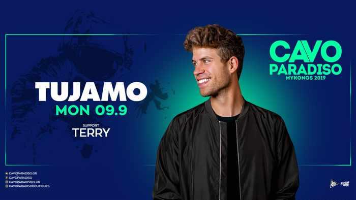 Cavo Paradiso Mykonos presents DJ Tujamo on Monday September 9