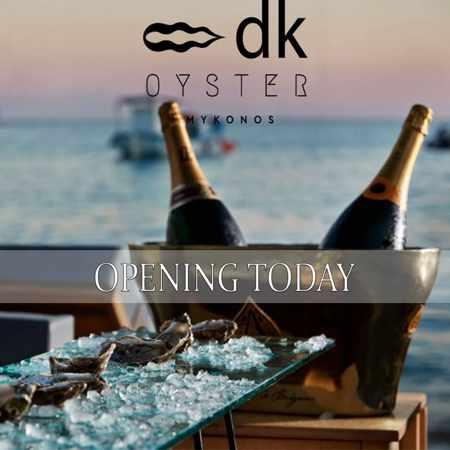 DK Oyster Mykonos 2019 opening announcement