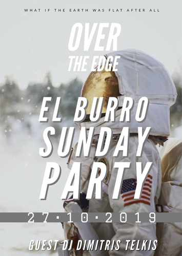 El Burro Mykonos Sunday Party on October 27