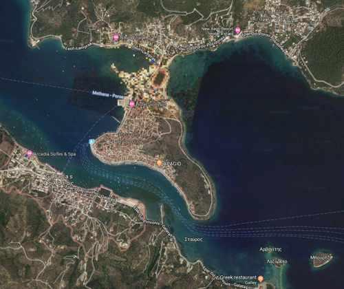 Greece, Greek island, Saronic island, ArgoSaronic island, Poros, Poros island, Poros Greece, Galatas, Galatas Greece, Peloponnese,
