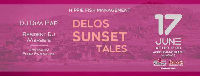 Hippie Fish Mykonos presents Delos Sunset Tales on Mondays during summer 2019
