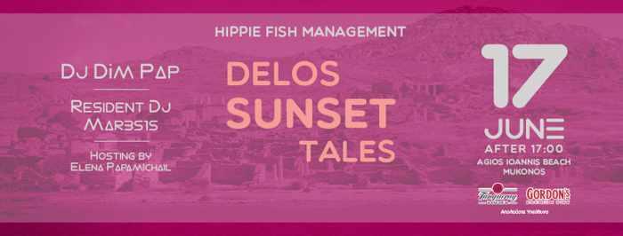 Hippie Fish Mykonos presents Delos Sunset Tales on Mondays during summer 2019